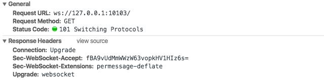 Websocket Response