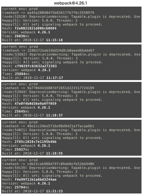搭载两款插件后编译速度分析